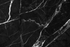 Black marble texture background, Detailed genuine marble from nature. Royalty Free Stock Image