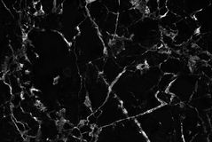 Black marble texture background, Detailed genuine marble from nature. Stock Photos