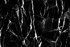 Black marble texture background, Detailed genuine marble from nature. Royalty Free Stock Photo