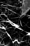 Black marble texture background, Detailed genuine marble from nature. Stock Image