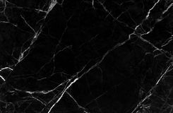 Black marble texture background, Detailed genuine marble from nature. Royalty Free Stock Images