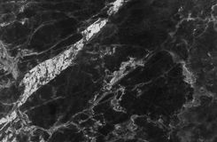Black marble texture background, Detailed genuine marble from nature. Royalty Free Stock Photos