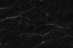 Black marble texture, detailed structure of marble in natural patterned  for background and design. Royalty Free Stock Image