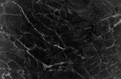 Black marble texture with lots of contrasting veining. Pattern for backdrop or background, And can also be used create marble effect to architectural slab Royalty Free Stock Images