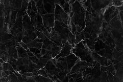 Black marble texture with lots of contrasting veining. Pattern for backdrop or background, And can also be used create marble effect to architectural slab Royalty Free Stock Image