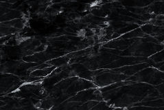 Black marble texture with lots of contrasting veining Royalty Free Stock Photos