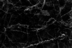Black marble texture in natural patterned for background and design. royalty free stock photos