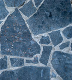 Black marble tiles Stock Images
