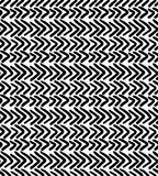 Black marker drawn simple chevrons. Hand drawn with paint brush seamless background. Abstract texture. Modern irregular tilable design royalty free illustration