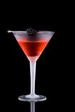 Black martini - Most popular cocktails series Stock Images