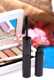 Black mascara cosmetic Stock Image