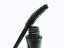 Black mascara for make up Stock Photography