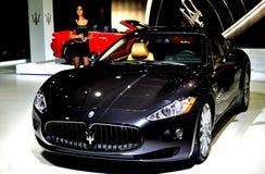 Black Maserati Stock Photo