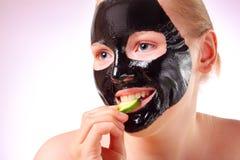 Black mask Stock Photo