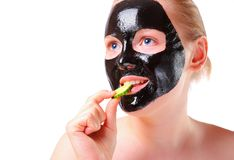 Black mask Royalty Free Stock Images