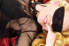 Black mask Royalty Free Stock Image
