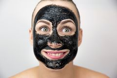 Black mask Stock Images