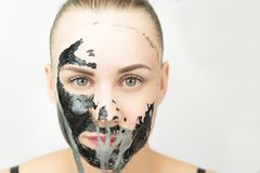 Black mask Royalty Free Stock Image