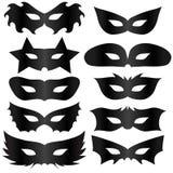 Black Masks Royalty Free Stock Photos