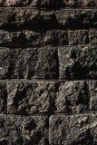Black masonry background Stock Photography