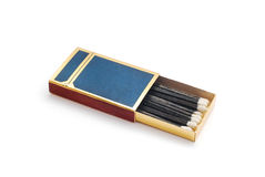 Matches in box Royalty Free Stock Photo