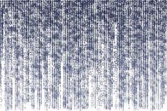 Black matrix of binary figures on white background Royalty Free Stock Photo