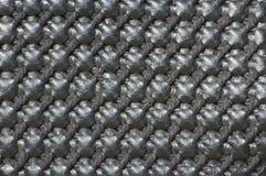 Black matte basket weave texture Stock Photos