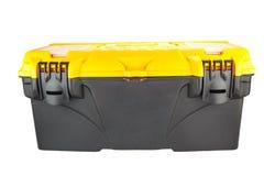 Black mechanic tool box Stock Images