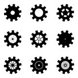 Black mechanisms Royalty Free Stock Photography