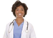 Black medical doctor Stock Image