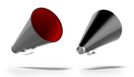 Black megaphone Royalty Free Stock Image