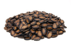 Black melon seeds Royalty Free Stock Image