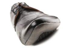 Black men's shoes Royalty Free Stock Photos