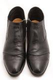 Black Men's Shoes Stock Image