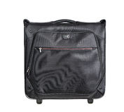 Black men's suitcase Royalty Free Stock Photography
