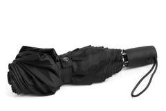 Black men's umbrella Stock Images