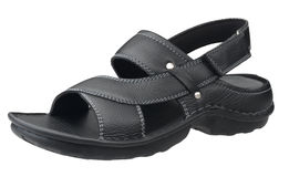 Black men sandal Royalty Free Stock Photos