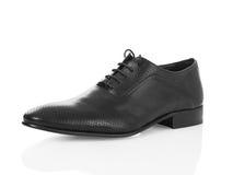 Black men shoe Stock Photos