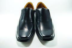 Black men shoe. On white background Stock Image