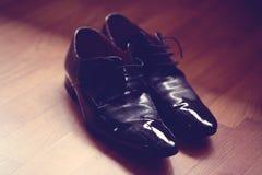 Black men shoes Stock Image