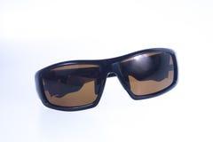 Black men sunglasses on isolated white background Royalty Free Stock Photo
