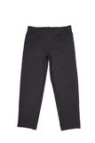 Black men trousers. Isolated on a white background Royalty Free Stock Image