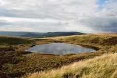 Black Mere Pool (Mermaid's Pool) near Leek, Staffordshire Stock Images