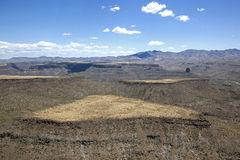 Black Mesa. Aerial view of Black Mesa near Black Canyon City, Arizona Stock Photography