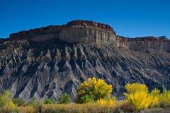 Black Mesa Rock Royalty Free Stock Images