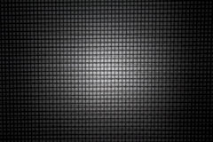 Black mesh background. Stock Images
