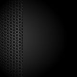 Black mesh background caot Stock Photography