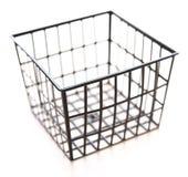 Black metal box Royalty Free Stock Image