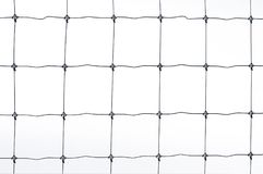 Black metal fence isolated on white background. Black metal fence isolated on white background Royalty Free Stock Images
