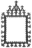 Black metal frame for a mirror Stock Photography